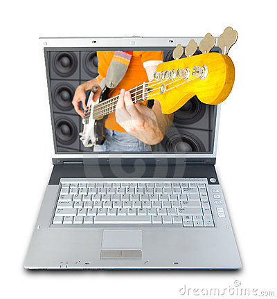 Digital Music Royalty Free Stock Images - Image: 1114679