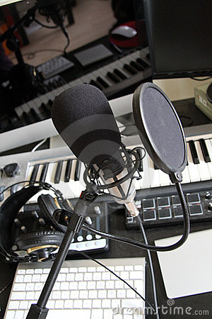 Digital Music Recording Studio