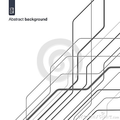 Free Digital Network Concept. Vector Abstract Background With Technical Lines For Graphic Design. Technology Circuit In Royalty Free Stock Photos - 70988368