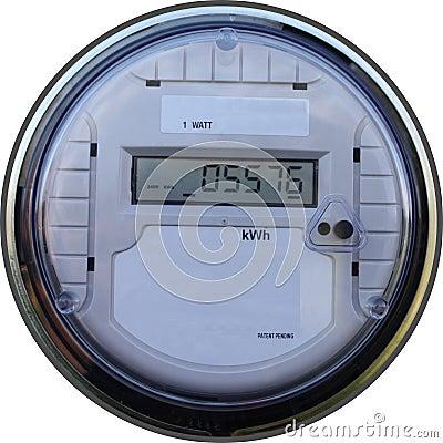 Digital outdoor meter