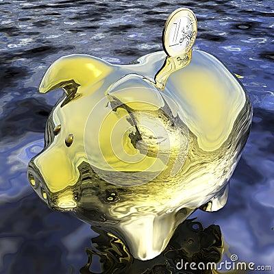 Digital Piggybank Visualization