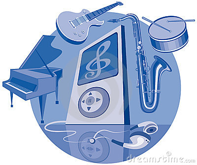 Digital player and musical instruments