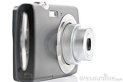 Digital point-and-shoot camera