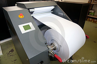 Digital press printing machine (detail)