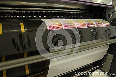 Digital printing print testing