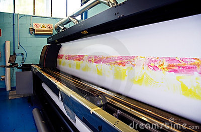 Digital printing - wide format press