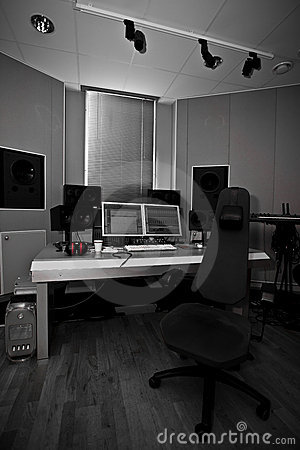Digital recording studio