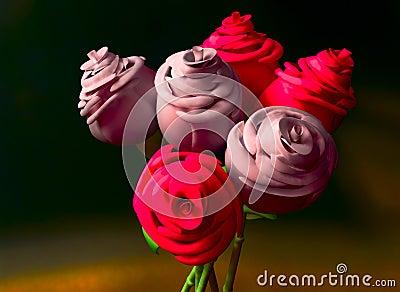 Digital Roses