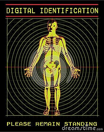 Digital scanning of body