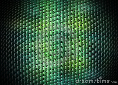 Digital Snakeskin Background Stock Photo - Image: 18492370