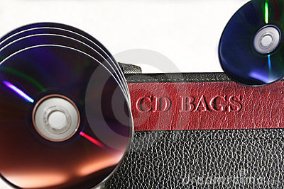 Digital storage and computer CD& DVD Leather Case