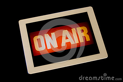 Digital Tablet On-Air