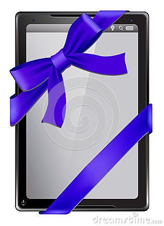 Digital tablet as a gift