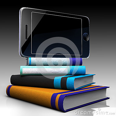 Digital tablet and books
