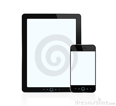 Digital tablet and smart phone