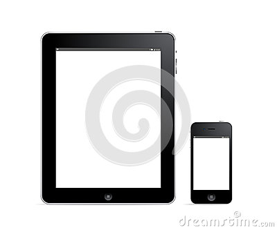 Digital tablet and smartphone