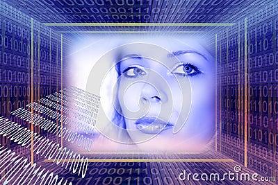 Digital technologies concept