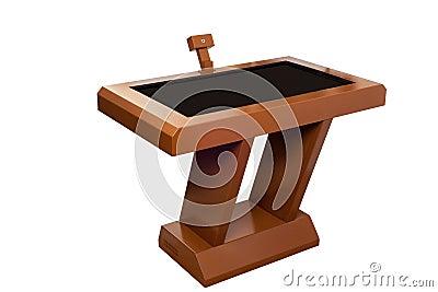Digital touchscreen terminal