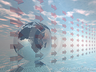 Digital world.