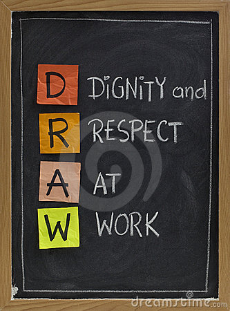 Free Dignity And Respect At Work Stock Photo - 12303030