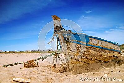 Dilapidated Boat
