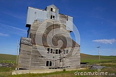 Dilapidated Grain Elevator