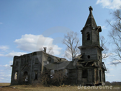 Dilapidated Orthodox Church