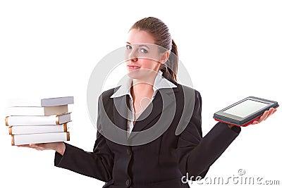 Dilemma between book and ebook reader