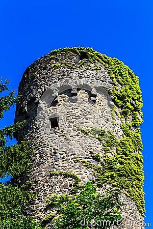 The Dilgesturm of the city wall in Hanau-Steinheim, Germany