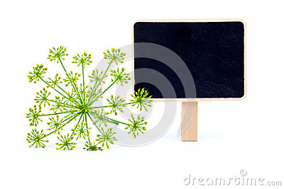 Dill with letter plate