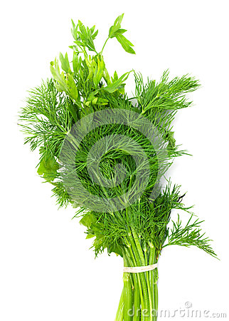 Dill and parsley