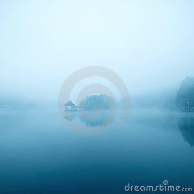 Dim lake