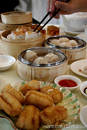 Free Dim Sum Table Stock Photo - 424590