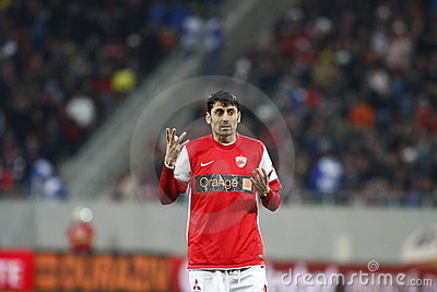 Dinamo Bucharest - Gaz Metan Medias Editorial Stock Photo