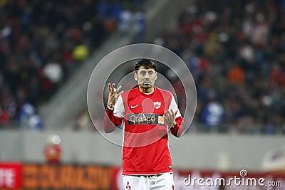 Dinamo Bucharest - Gaz Metan Medias Editorial Stock Photo