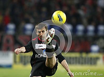 Dinamo Bucharest - Gaz Metan Medias Editorial Photo
