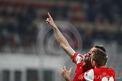 Dinamo Bucharest - Sportul Studentesc Editorial Stock Photo