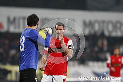 Dinamo Bucharest - Sportul Studentesc Editorial Stock Image