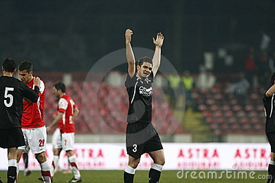 Dinamo Bucharest - Sportul Studentesc Stock Image - Image: 23946621