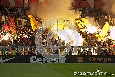 Dinamo Bucharest - Steaua Bucharest Editorial Photography