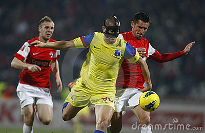 Dinamo Bucharest - Steaua Bucharest Editorial Stock Photo