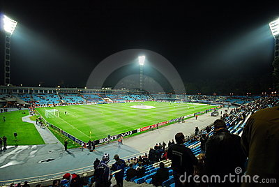 Dinamo Kiev Stadium Editorial Photo