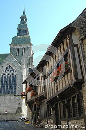 Dinan in France