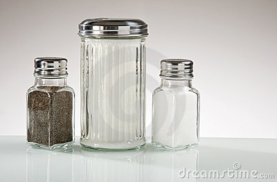 Diner Counter Condiments