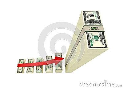 Dinero de la ganancia