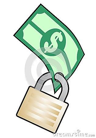 Dinero de la seguridad
