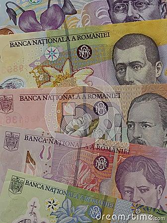 Dinero en circulación de Rumania