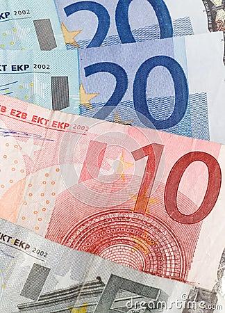 Dinero en circulación euro