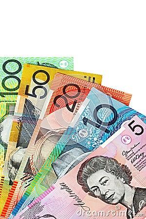 Dinero en circulación australiano