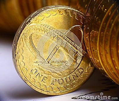 Dinero en circulación británico
